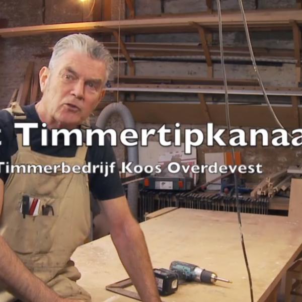 Timmerman Koos op Open Dag Hout
